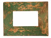 Old Green Picture Frame