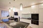 Stylish Flat - Kitchen And Dining Room