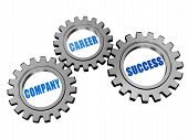 Company, Career, Success In Silver Grey Gears