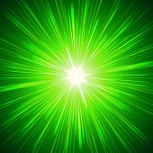 Shining Green Lights