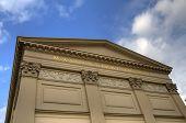 Exterior of the Maxim Gorki Theatre in Berlin, Germany