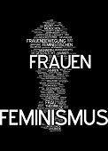 Word cloud -  feminism