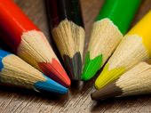 Colored Pencils, Macro