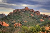 Esterel Mountain Range near Frejus on the C�?�´te d'Azur, France