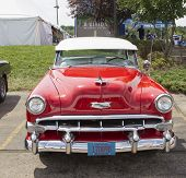 1954 Red Chevy Bel Air