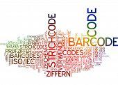 Word cloud -  barcode