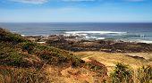 Coastal Landscape On Sunny Day