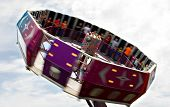 Tilt-a-whirl At Fair