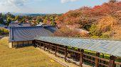 View from  Nigatsu-do Hall in Nara
