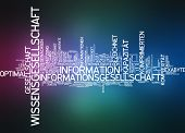 Word cloud -  information society