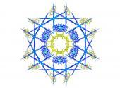 Mandala flower fractal