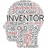 Info-text graphic - inventor