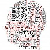 Info-text graphic - mathematics