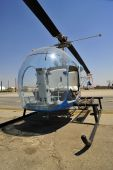 A small two-place helicopter