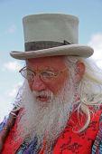 Famous storyteller at Guilfest Music Festival, Guildford, UK 12/7/09