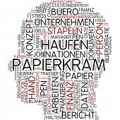 Info-Text-Grafik - Papierkram
