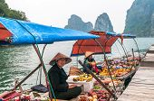 Markets For Water In Ha Long Bay