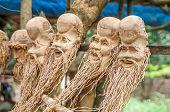 Hand Carved Sculpture Mask