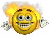 'fired Up' Emoticon