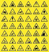 Hazard sign collection