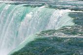 Closeup Of Niagara Waterfalls