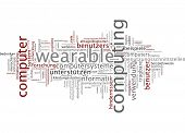 Word cloud - wearable computing