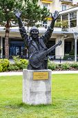 Statue To Carlos Santana, Montreux