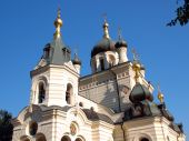 A Russian-Orthodox cathedral