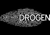Word cloud - drugs