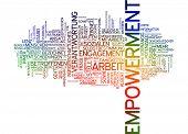 Word cloud - empowerment