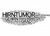 Word cloud -  Brain tumor