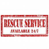 Rescue Service-stamp