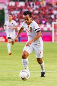 Sisaket Thailand-june 8: Datsakorn Thonglao Of Muangthong Utd. In Action During Thai Premier League