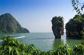 Phang Nga Bay, Tapu Island In Thailand