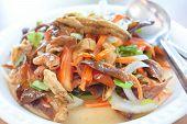 Crispy Spicy Salad, Thai Food.