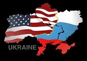 Ukraine Map Us V Rus