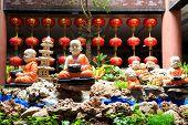 Meditate Buddhist Novice.