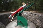 Army rocket Rheintochter from WWII (German rocked produced in Poland)