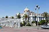 The Hotel Negresco And Promenade Des Anglais