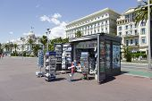 Newsstand At The Promenade Des Anglais