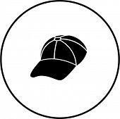 baseball cap symbol