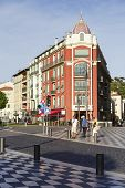 Architecture Of Place Massena In Nice