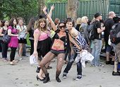 Little Monsters Lady Gaga Fans in Central Park