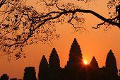 Sunrise Of Ankor Wat