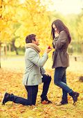 foto of propose  - holidays - JPG