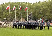 Polish Police Preparing To Parade