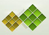 Vector ketupat element design.