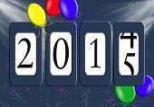 odometer for 2015 new year