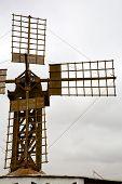 Hole Windmills  Isle Of Lanzarote