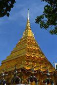 Gilded Chedi, Wat Phra Kaew, Thailand